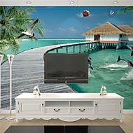 Décoration artistique Fond d'écran pour la maison Contemporain Revêtement , Toile Matériel adhésif requis Mural , Chambre Wallcovering