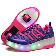 Kényelmes-Parafa-Női cipő-Sportcipők-Szabadidős Alkalmi Sportos-Tüll-Fekete Kék Lila