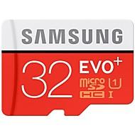 SAMSUNG 33GB 마이크로 SD 카드 TF 카드 메모리 카드 UHS-I U1 CLASS10 EVO PLUS EVO+