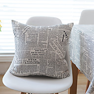 1 pc Cotton Pillow CaseQuotes & Sayings Modern/Contemporary / Casual