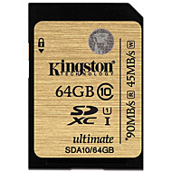 Kingston 64Gb SD Card geheugenkaart UHS-I U1 Class10 ultimate