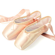 Non Customizable Women's Dance Shoes Canvas Canvas Ballet Flats / Full Sole Flat HeelPractice / Beginner / Professional / Indoor /