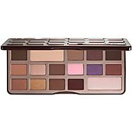 16 Paleta de Sombras Secos Paleta da sombra Pó Normal Maquiagem para o Dia A Dia