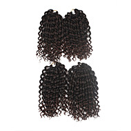 Tranças Crochet pré-laço Extensões de cabelo 9Inch fibra sintética 1 Package For Full Head costa 170g grama Tranças de cabelo