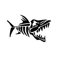 engraçado ossos de peixe estilo do carro decalque da parede da janela de carro adesivo de carro