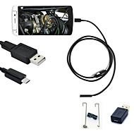 joyshine 5.5mm 2m 6led 2 in 1 otg micro usb video android endoskoopin IP66 tarkastus kamera