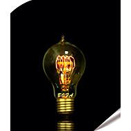 E26 / E27 40ワットA19エジソンタングステン線ワイヤランプの周りに23水滴(アソートカラー)