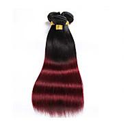 Âmbar Cabelo Brasileiro Retas 1 Peça tece cabelo