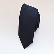 עניבה - דוגמא ( כחול כהה , פוליאסטר )