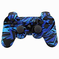ללא בקרים ל Sony PS3 נטענת ידית משחק Bluetooth