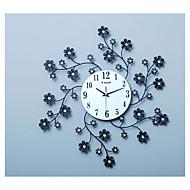 Moderne/Contemporain / Décontracté / Bureau / Affaires Famille / Anniversaire Horloge murale,Rond / Nouveauté Métal / Plastique Intérieur
