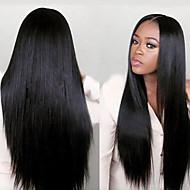 אופנה לא מעובד 100% פאה משיער אדם ישר בתולה joywigs עבור נשים שחורות