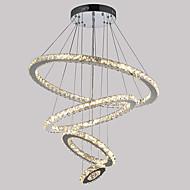 0.5 מנורות תלויות ,  מודרני / חדיש כרום מאפיין for קריסטל / LED מתכתחדר שינה / חדר אוכל / מטבח / חדר עבודה / משרד / חדר ילדים / כניסה /