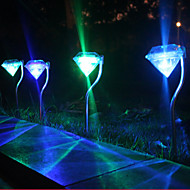 Solar Colorful Diamond Lights