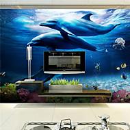 아트 데코 / 3D 홈 벽지 콘템포라리 벽 취재 , 캔버스 자료 접착제가 필요 벽화 , 룸 Wallcovering 협력
