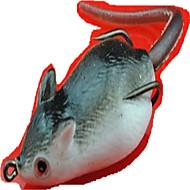 1 ks Měkké návnady / Balıkçılık Zokaları Myš Náhodně vybraná barva 9 g Unce mm palec,Měkký plastMořský rybolov / Rybaření ve sladkých