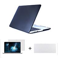 """3 in 1 keinonahka yläpinnan kova kuori suojakotelo + näppäimistö kattaa + näytönsuoja MacBook Air 11 """"/ 13"""""""