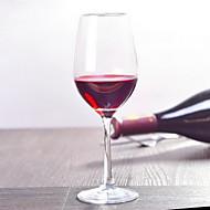כלי זכוכית זכוכית,Red Wine Goblet 7.6*22.5CM Champagne Glass25*4.7CM יַיִן אבזרים