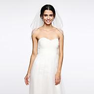 Wedding Veil Two-tier Elbow Veils Net