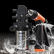 greener bil / hjem vask sprayer&8m rør 12v 96W vannpumpe bærbare høy presure cleanning utstyr sett