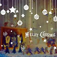 ornamenty Neosvětlené Postavy Prázdninový Papír Vánoční dekorace