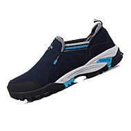 Atletik Ayakkabılar-Açık HavaDeri-Düz Topuk-Koyu Mavi Ordu Yeşili Haki-Erkek