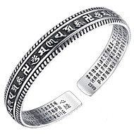 Women's Bangles Sterling Silver Natural Classic Alphabet Shape Silver Jewelry 1pc