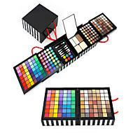 177PCS/SETS Paleta de Sombras Secos Molhado Mate Brilho Mineral Paleta da sombra Bálsamo Extra GrandeMaquiagem de Fada Maquiagem Olho de