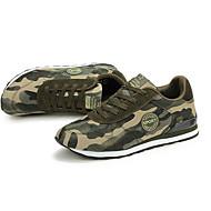 Homme-Extérieure-Vert-Talon Plat-Confort-Chaussures d'Athlétisme-Polyuréthane