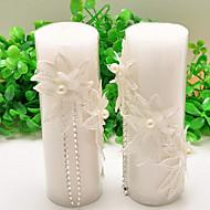 촛불 부탁-2 조각 / 세트 캔들 비 개인화 화이트