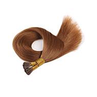 상단 처녀 유럽 네일 헤어 확장 t 팁 인간의 머리카락 확장 부드러운 직선 패션 높은 품질의 헤어 스트레이트 판매