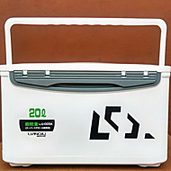 Angelkasten Angelkasten Wasserdicht 1 Schale*#*23 Kunststoff