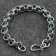 Pánské Dámské Kotníkové náramky Stříbro Módní Retro Šperky Stříbrná Šperky 1ks