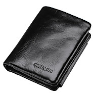 Men Wallet Cowhide Sports Casual Office & Career Shopping