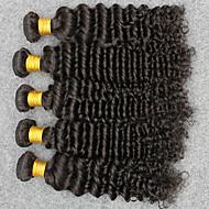 Vinsteen Indian Virgin Hair Weave Deep Wavev 5pcs/Lot 100g/pcs Hair Bundles Peruvian Indian Malaysian Human Hair Extensions Best Quality No Tangle