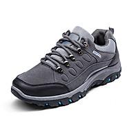 Spor Ayakkabısı-Rahat-Rahat-PU-Düz Topuk-Siyah Yeşil Gri-Erkek