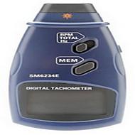 Profesionální fotografie digitální laserový bezkontaktní otáčkoměr rpm tach měřidlo (2,5 ~ 999.9rpm, 0.1rpm / 1rpm)