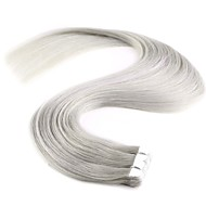20 '' 10st nieuwe mode mini tape in human hair extensions 100% remy pu huid inslag