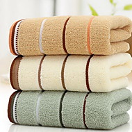 Vaskehåndklæ,Garn Bleket Høy kvalitet 100% Bomull Håndkle