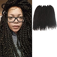Island Twist Pre-bue hekles Braids Hårforlengelse 16Inch Kanekalon 1 Package For Full Head Strand 148g gram Hair Braids