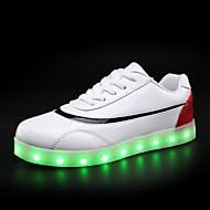 Tenisky-Lakovaná kůže-Pohodlné Light Up boty světelný Shoe-Dámské--Běžné-Plochá podrážka