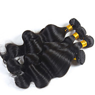 Brazilian Virgin Body Wave, 4 pcs/ lot Free Shipping Brazilian Hair Body Wave