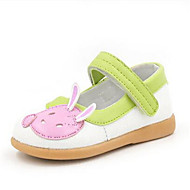 Girl's Loafers & Slip-Ons Comfort PU Casual Pink White