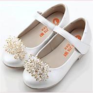 לבנות-נעליים ללא שרוכים-PU-נוחות-שחור לבן-יומיומי