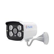 yanse® 1000tvl 3,6mm kov hliník d / n CCTV kamery ir pole 4 vedl bezpečnostní vodotěsné kabelové 720cf
