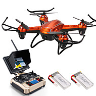 Drone JJRC 4-kanaals 6 AS 5.8G Met 2.0MP HD-camera RC quadcopterLED-verlichting Terugkeer Via 1 Toets Auto-Takeoff Failsafe