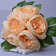 1Pc The Peony Flower Bride Bouquet Wedding Bouquet Table Flower Vase Home Furnishing Living Room