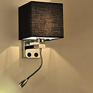 The Modern Hotel Room Reading Creative Fabric Corridor Balcony Led Bedside Lamp