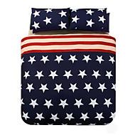 Baolisi America Flag Duvet Cover Set Bedding Set of 4pcs/ QueenSize