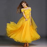 Ballroom Dance Dresses Women's Training Spandex / Tulle Sleeveless